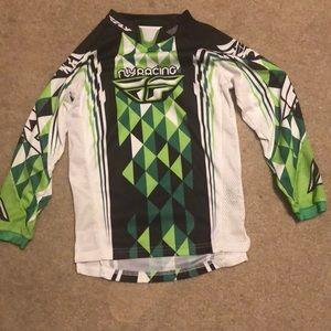 Youth Medium Boys Racing Shirt